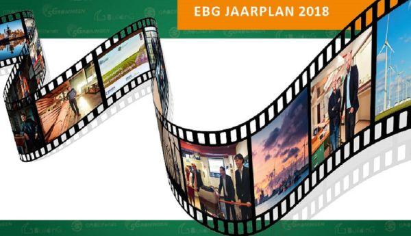 EBG Jaaroverzicht 2017 en EBG Jaarplan 2018