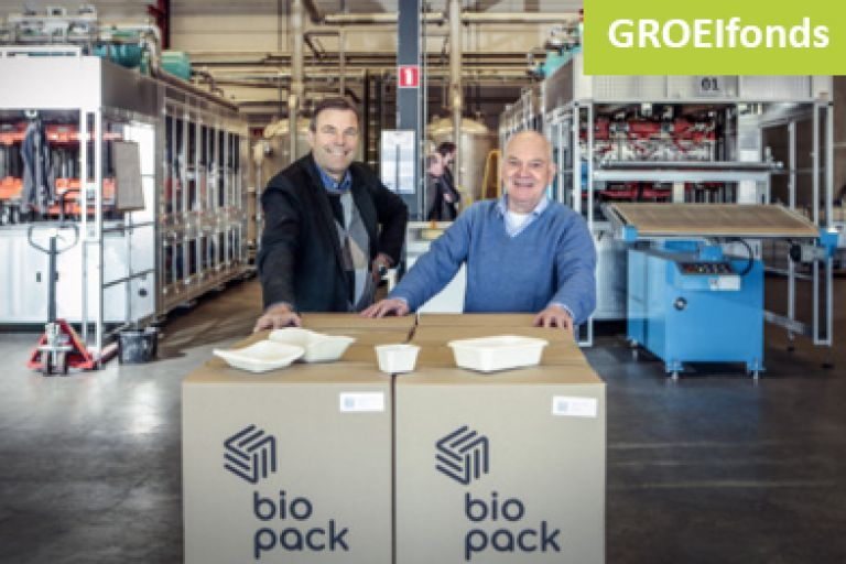 GROEIfonds investeert in innovaitef en kansrijk Biopack Packaging